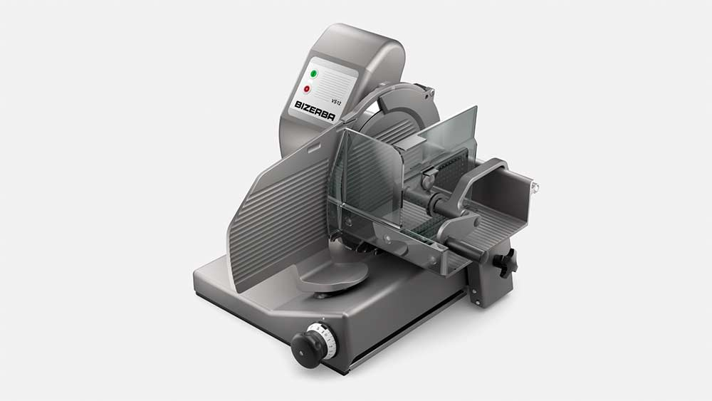 Manuelle Vertikalschneidemaschine VS12PC Waage
